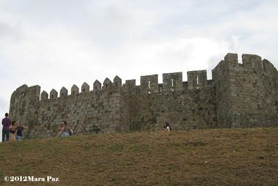 Santa Maria da Feira Castle walls