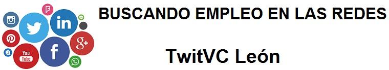 TwitVC León. Ofertas de empleo, trabajo, cursos, Ayuntamiento, Diputación, oficina virtual