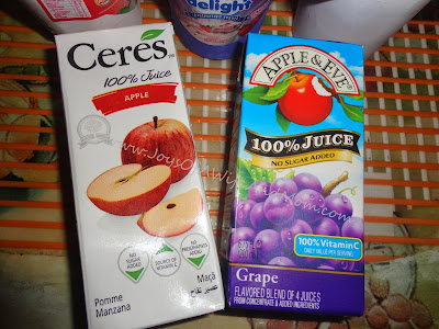 Ceres and Apple & Eve 100% Fruit Juice
