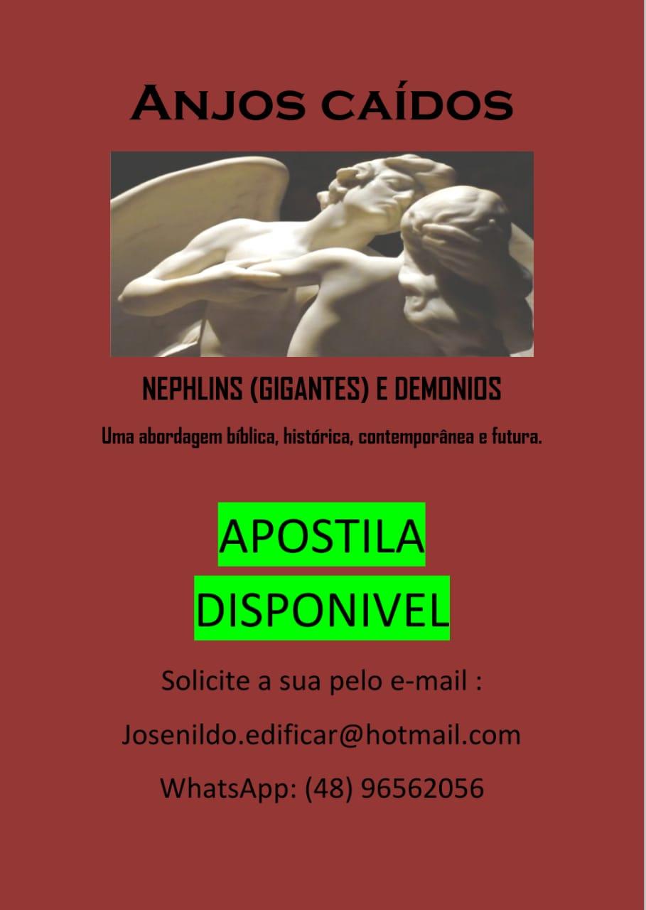 Apostila - Anjos caídos, nefilins e demônios