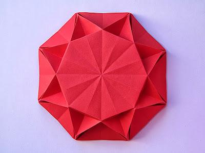 Origami Sole infinito 2 - Infinity Sun 2 by Francesco Guarnieri