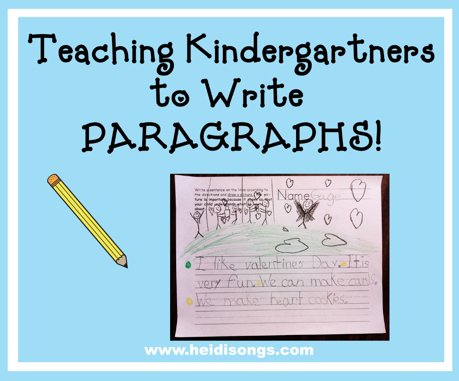 topics for paragraph writing for grade 4