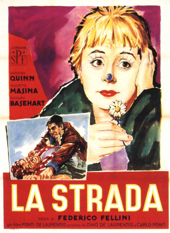 Ver película : La Strada, 1954 -Federico Fellini-