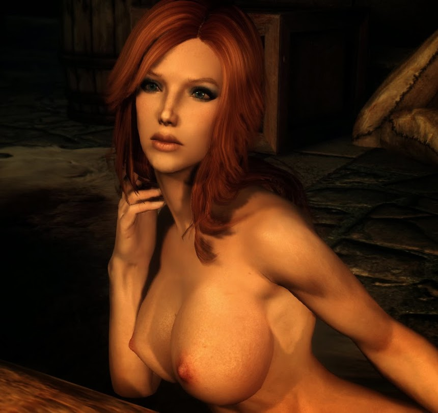 Miss March in Skyrim