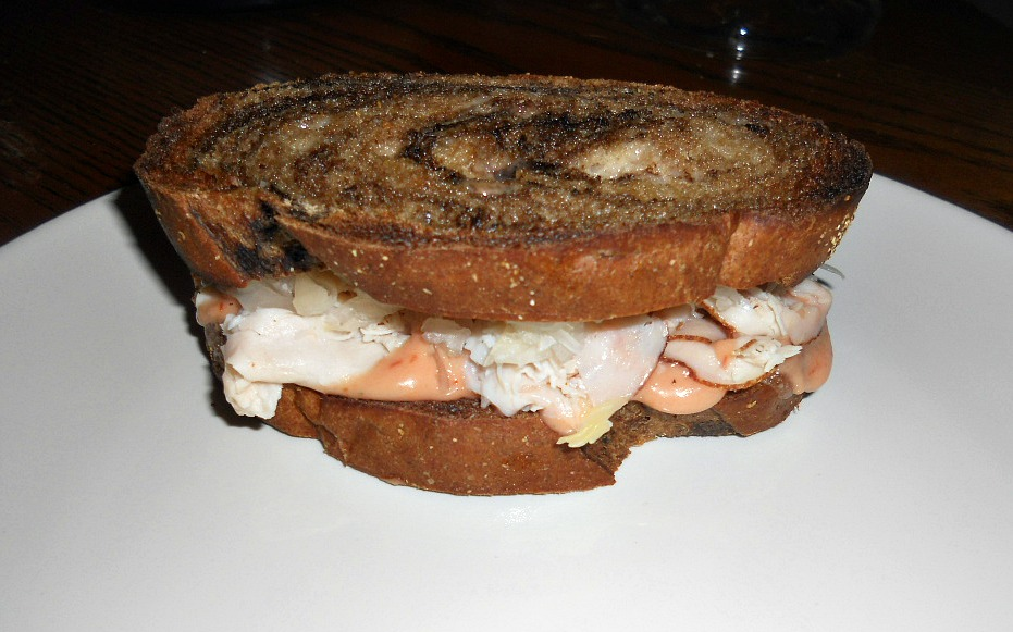 Rachel Sandwich (a Reuben with turkey) - Hezzi-D's Books and Cooks