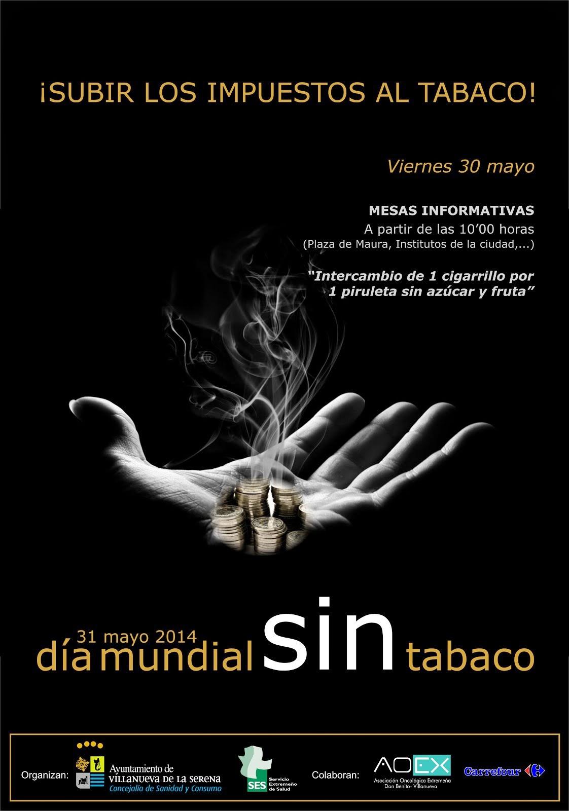 Mesa informativa: Día Mundial sin Tabaco