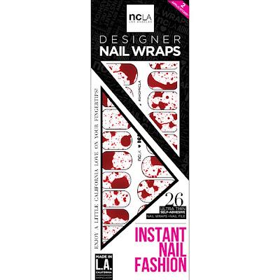 NCLA, NCLA Dracula's Bride Designer Nail Wraps, nail art, nails, nail polish, nail lacquer, nail varnish, Halloween, Halloween beauty products