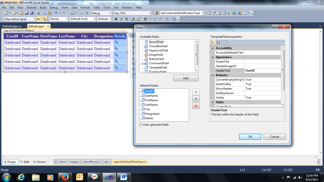 GridView inside GridView in ASP.Net (Nested GridView) | Naushad ...