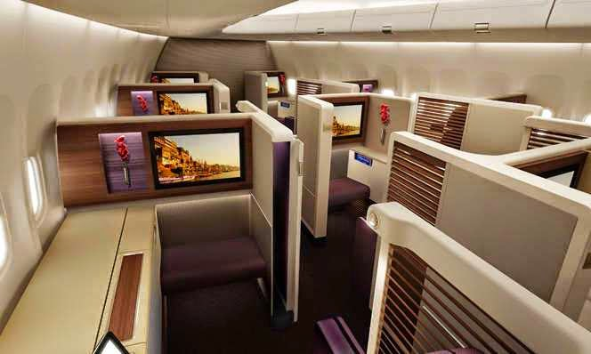 thai airways 787 manila flights