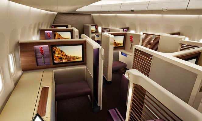 thai airways 787 manila flights
