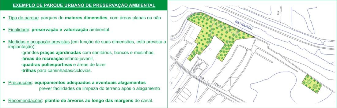 Projeto de Parque de Preservação Ambiental.