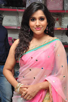 Rashmi Gautam Latest 2016  Stills In Pink Saree (4).JPG