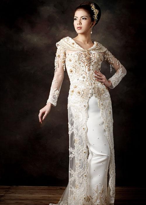 Kebaya usually used for wedding dress examples of modern kebaya dress