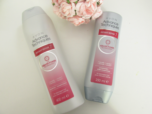 AVON Advance Techniques Instant Repair 7 Shampoo & Spülung  Keratin Technology Treatment