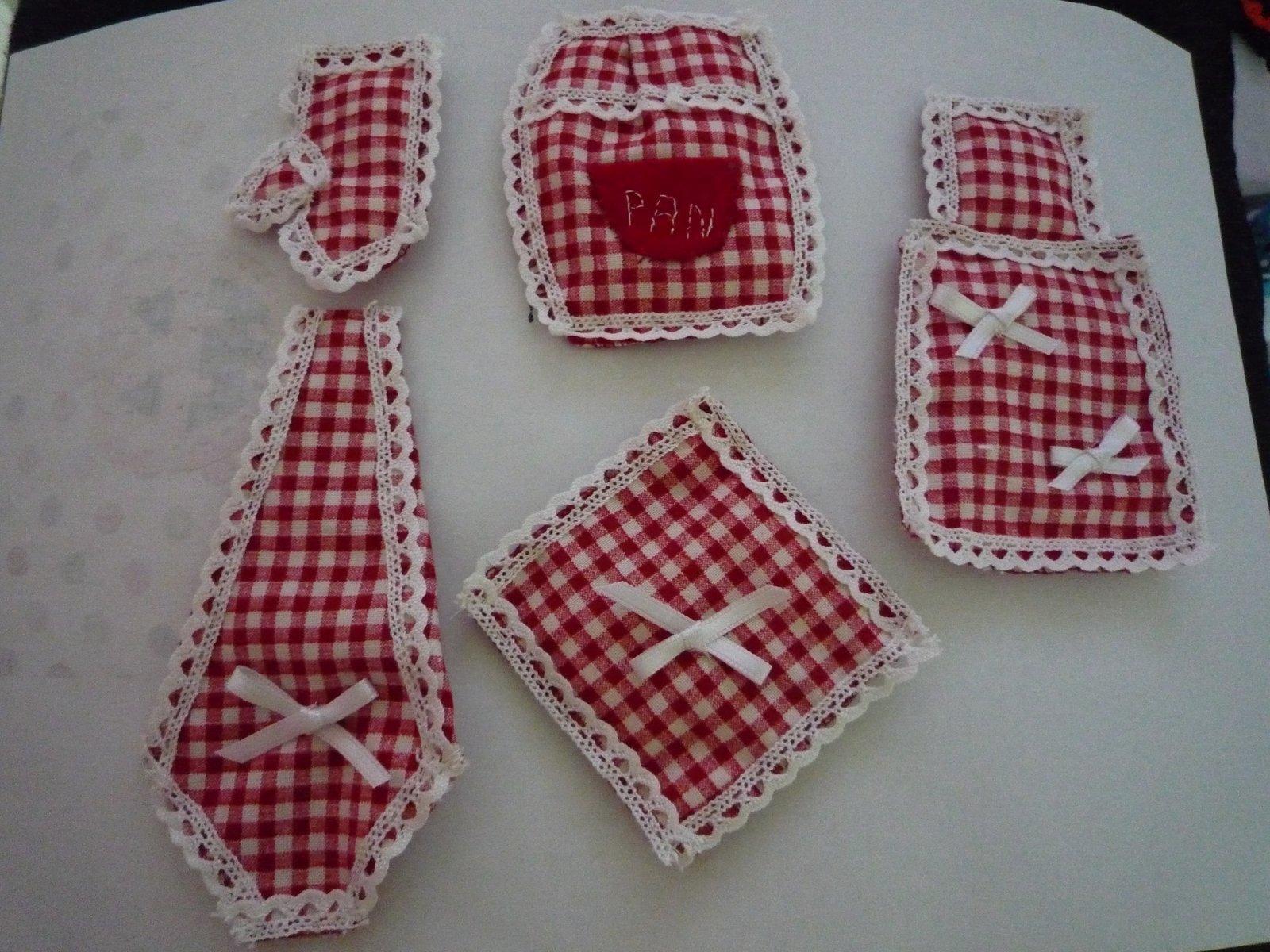Todas las cositas de carmen patchwork imanes para la cocina - Patchwork para cocina ...