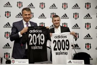 Besiktas renueva su vínculo con adidas que lo vestirá hasta 2019