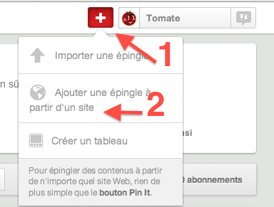 pinterest, pin, ajouter, epingle, épingle, site, web, video, image,