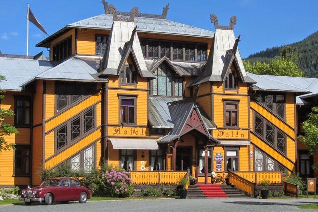 Noorwegen, hotel Dalen