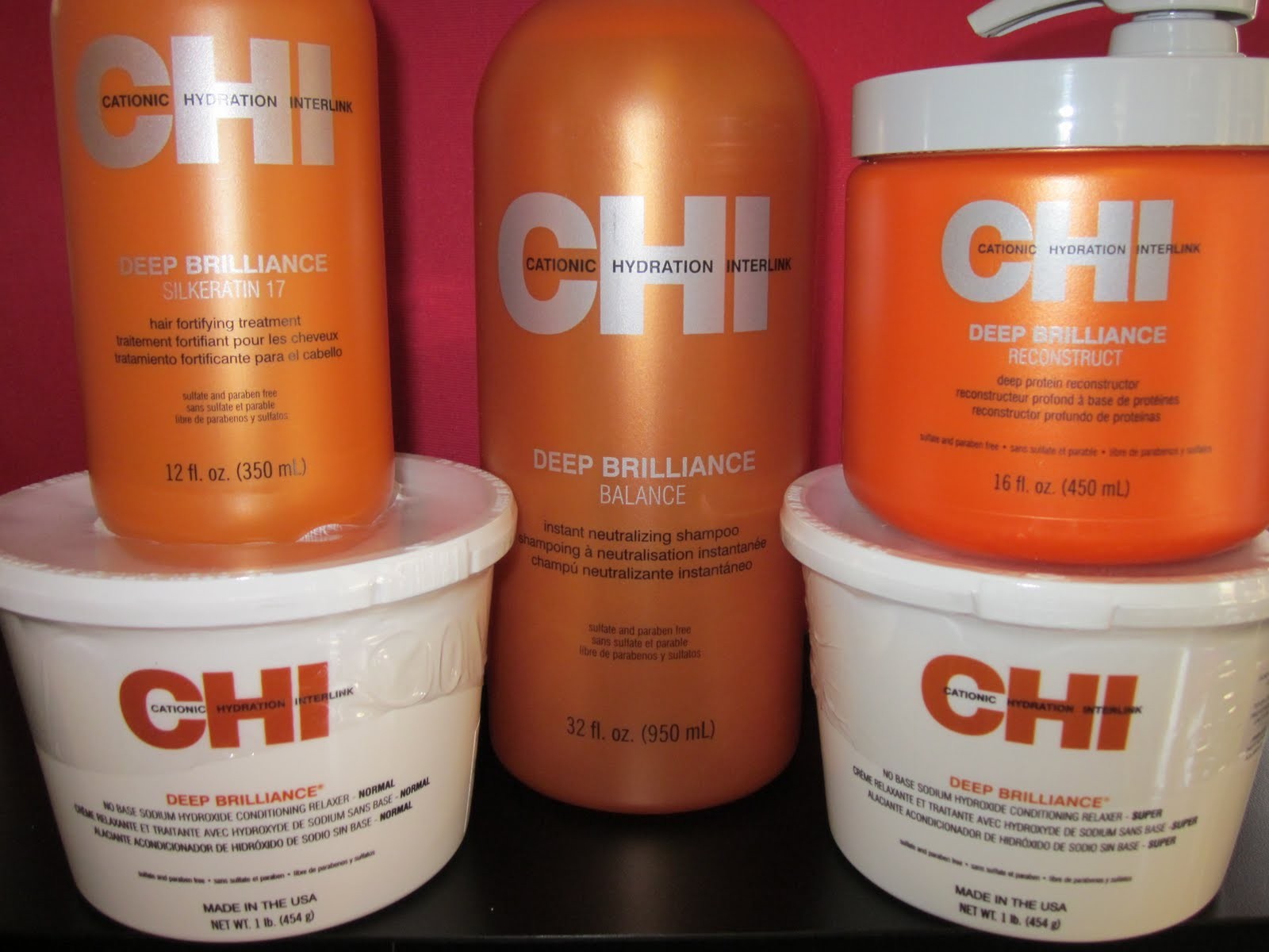 Hair Relaxing Products : PhenomenalhairCare: Product Review: Chi Deep Brilliance Relaxer