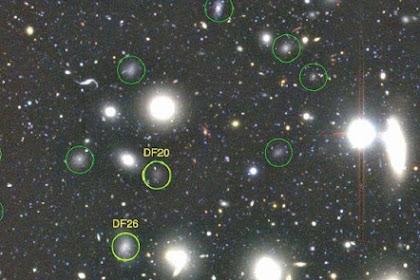 Lebih dari 800 Galaksi Ditemukan dengan Kekuatan Misterius