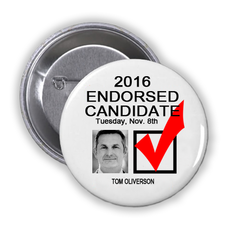 RACE FOR STATE REPRESENTATIVE, DISTRICT 130 -- Tom Oliverson