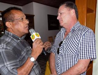 Sérgio Miranda em Entrevista à Rádio Agreste FM em notícia postada no dia 18/11/2015
