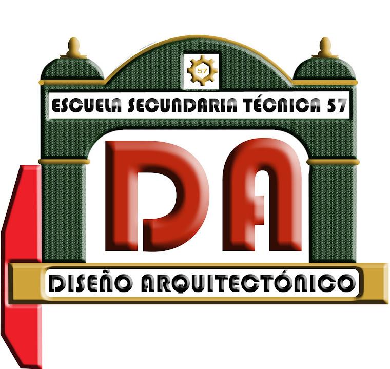 LOGOTIPO DE DISEÑO ARQUITECTONICO EST 57