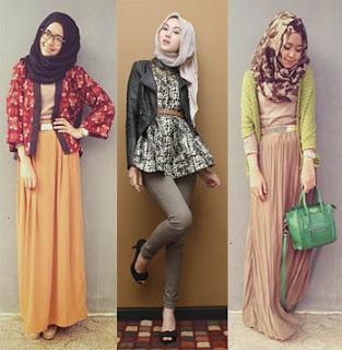Model Busana Remaja Muslim untuk Kuliah