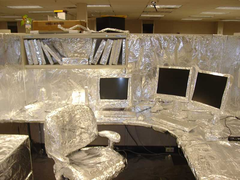 30 Creative April Fools Office PRANKS ~ Damn Cool Pictures