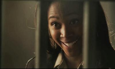 Lieutenant Abbie Mills Nicole Beharie shocked grin