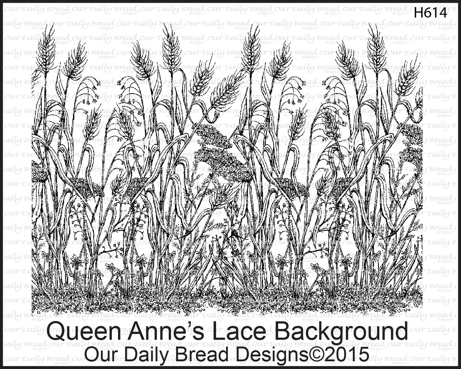Stamps - Our Daily Bread Designs Queen Anne's Lace Background