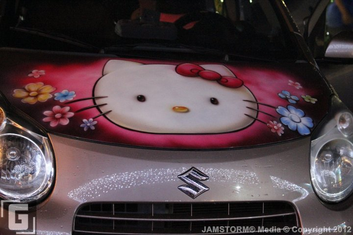 Hello Kitty Toy Car For Girls : Geekmatic sights highlights hello kitty cars