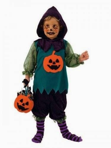 Halloween mejores disfraces para ni os noche de brujas - Disfraces halloween calabaza para ninos ...