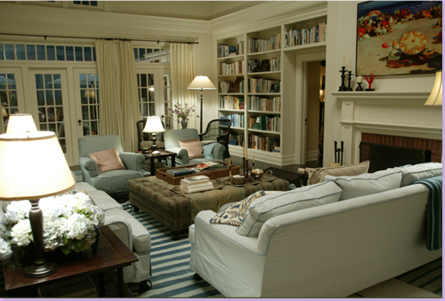 Modern Country Style Somethings Gotta Give Living Room