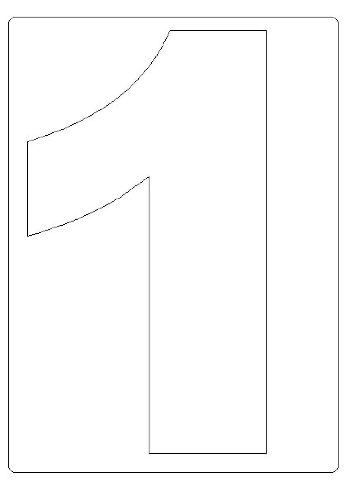 Moldes De Numeros Para Imprimir 1 Letras Pinterest   apexwallpapers