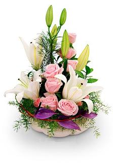 Bunga meja untuk pembukaan toko dan kantor, toko bunga