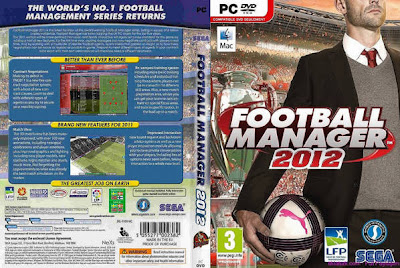 Football Manager 2012 PC Football Manager 2012 Front Cover 59897