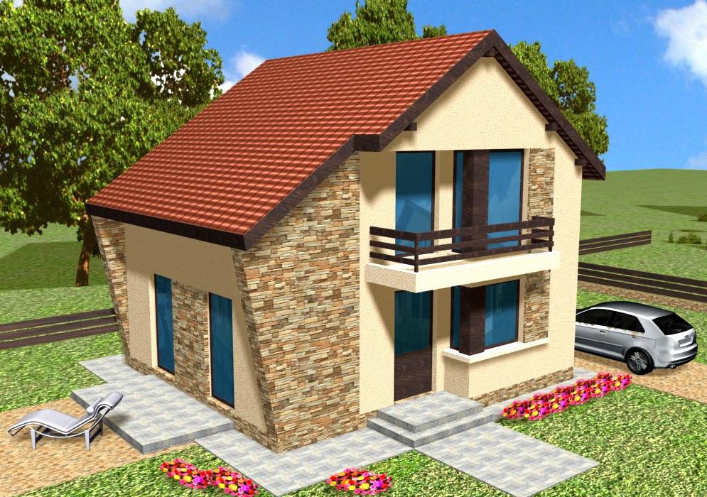 Proiecte case mici proiect de casa model cernicav5 for Planuri de case
