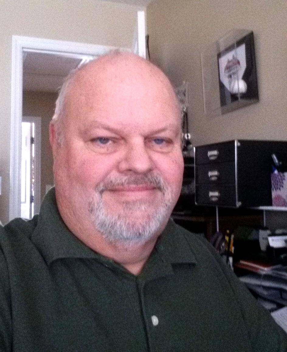 Ron Hogue at home!