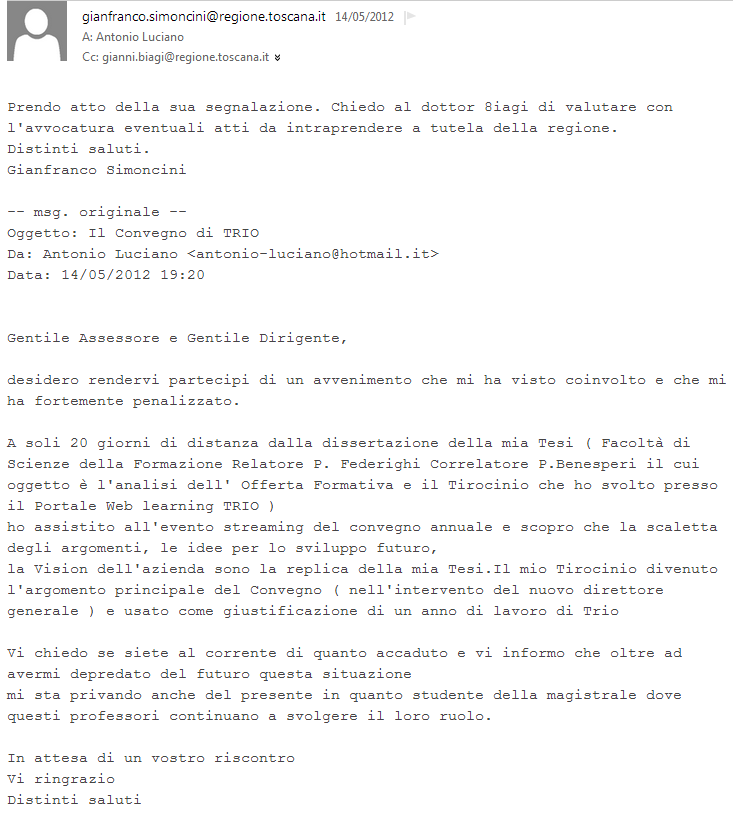 assessore gianfranco simoncini