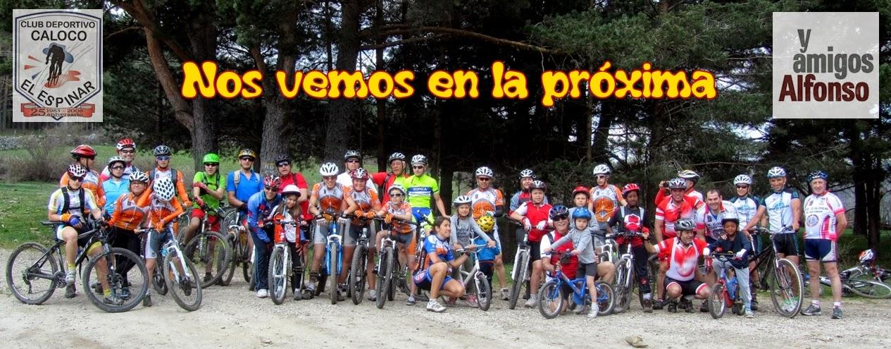 Ruta Familiar MTB en San Rafael - Alfonsoyamigos
