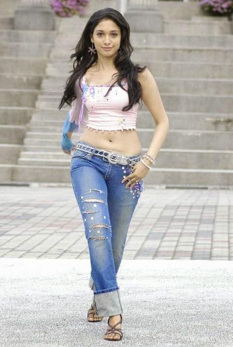 tamanna hot photos in jeans