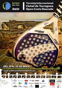 Cartel Internacional de Tarragona de Padel