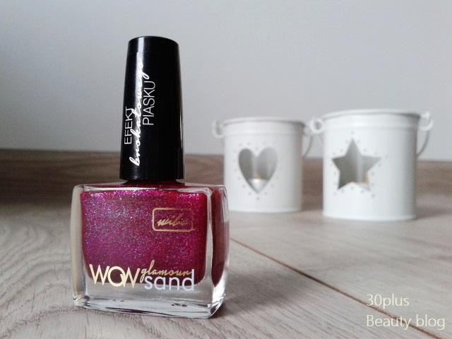 Połyskująca piękność z Wibo - WOW glamour sand nr 2 .