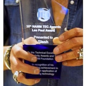 Slash - Les Paul Award