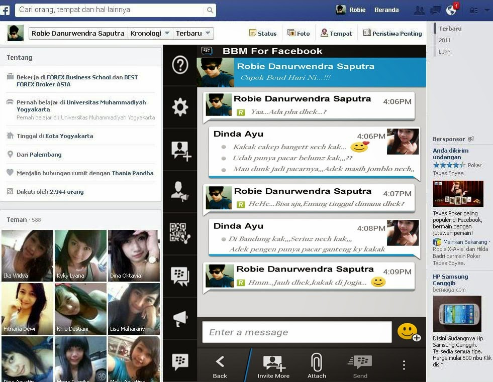 Isu BBM For Facebook