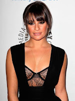 Lea Michele attended a memorial for her boyfriend Cory Monteith in LA