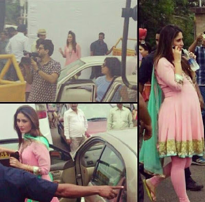 Kareena Kapoor sports a baby bump for GTPM
