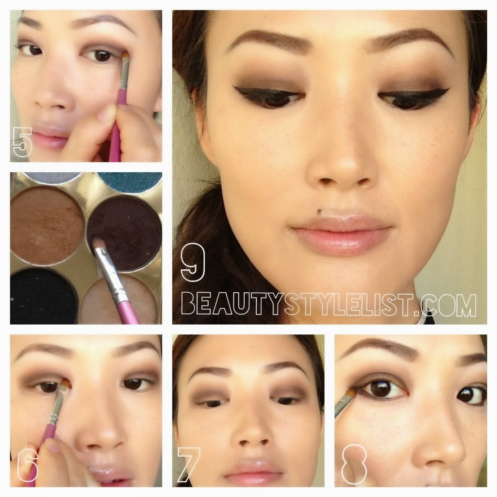 Brown Smokey Eye Makeup FashionForLife1