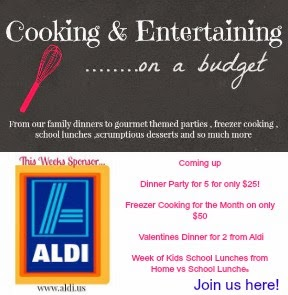.Budget Cooking with Aldi's